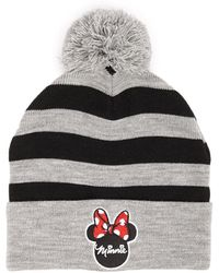 bc6d2ef8f6f79 Lyst - Forever 21 Ribbed Mickey Mouse Beanie in Black