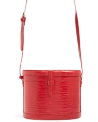 Forever 21 - Faux Leather Cylinder Crossbody Bag - Lyst