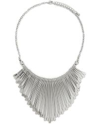 Forever 21 - Matchstick Statement Necklace - Lyst