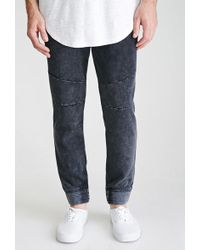 Forever 21 - Mineral Wash Drawstring Sweatpants - Lyst