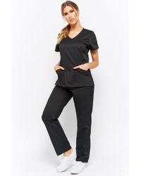Forever 21 - Mid-rise Scrub Pants - Lyst