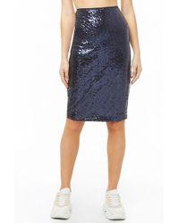 Forever 21 - Sequin Bodycon Skirt - Lyst