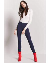 Forever 21 - Textured Knit Leggings - Lyst