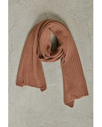 Forever 21 | Men Ribbed Panel Scarf | Lyst