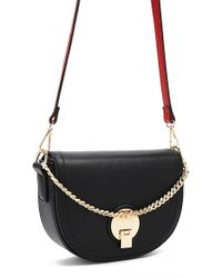 Forever 21 - Faux Leather Half-moon Crossbody - Lyst
