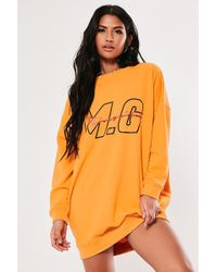 Missguided - Mg Signature Sweater Dress At - Lyst