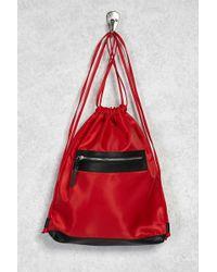 Forever 21 - Nylon Drawstring Backpack - Lyst