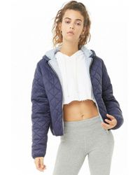 Forever 21 - Active Quilted Jacket - Lyst