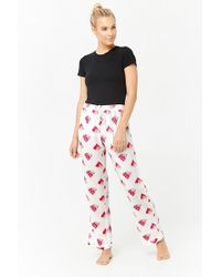 Forever 21 - Watermelon Graphic Pyjama Bottoms - Lyst