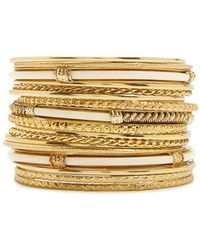 Forever 21 - Assorted Bangle Bracelet Set - Lyst