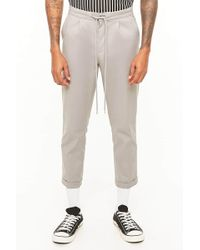 Forever 21 - Cuffed Drawstring Pants - Lyst