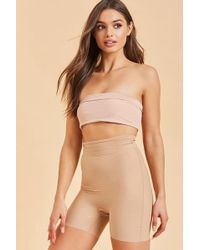 c826b2c9fabca Forever 21 - Assets By Spanx Shaping High-waist Girl Short - Lyst