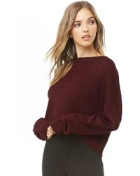 Forever 21 - Contemporary Ribbed Sweater - Lyst