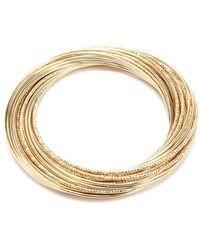 Forever 21 - Layered Bangle Bracelet - Lyst