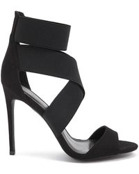 Forever 21 - Strappy Faux Suede Heels - Lyst