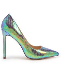 Forever 21 - Iridescent Pointed Toe Pumps - Lyst