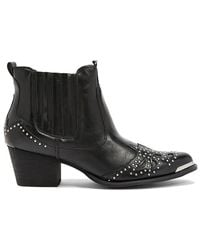 Forever 21 - Wanted Studded Ankle Boots - Lyst