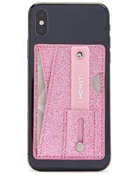 Forever 21 - Multifunctional Glitter Phone Wallet - Lyst