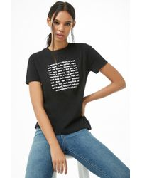 Forever 21 - Peter Verse Graphic Tee - Lyst
