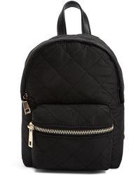 Forever 21 - Quilted Mini Backpack - Lyst