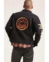 Forever 21 - Def Leppard Denim Jacket - Lyst