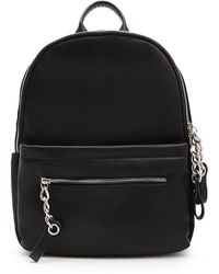 Forever 21 - Faux Leather Curb Chain Backpack - Lyst