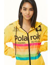 Forever 21 - Women's Polaroid Hooded Windbreaker Jacket - Lyst