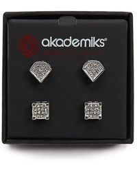 Forever 21 - Akademiks Stud Earring Set - Lyst