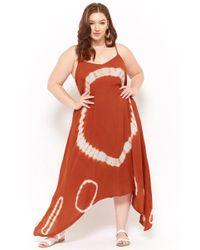 eb73adb1676e Forever 21 - Women's Plus Size Tie-dye Maxi Dress - Lyst