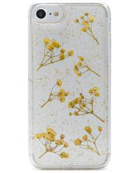 Forever 21 - Floral & Glitter Phone Case For Iphone 6/7/8 - Lyst