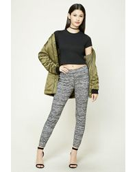 Forever 21   Marled Knit Pants   Lyst