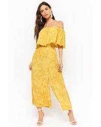 a8049223f95b3 Women's Forever 21 Jumpsuits - Lyst