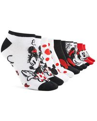 Forever 21 - Mickey Mouse Ankle Socks - 5 Pack - Lyst