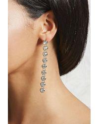 Forever 21 - Rhinestone Drop Earrings - Lyst