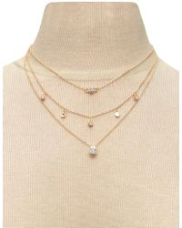Forever 21 | Layered Charm Necklace | Lyst