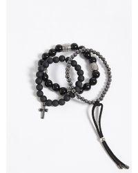 Forever 21 | Men Bead Bracelet Set | Lyst