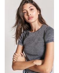 Forever 21 - Women's Slub Knit Tee Shirt - Lyst