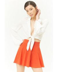 Forever 21 - Skater Mini Skirt - Lyst