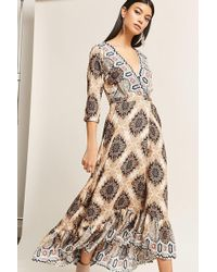 Forever 21 - Selfie Leslie Abstract Print Maxi Dress - Lyst