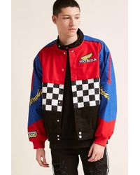 Forever 21 - Honda Embroidered Twill Jacket - Lyst