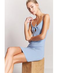 Forever 21 - Keyhole Bodycon Cami Dress - Lyst