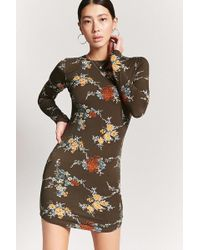 Forever 21 - Floral Mini Dress - Lyst
