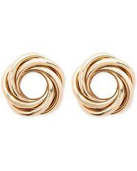 a840b2565 Forever 21 Filigree Stud Earrings in Metallic - Lyst