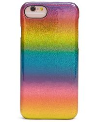Forever 21 - Glitter Rainbow Case For Iphone 6/6s/7 - Lyst
