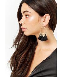 Forever 21 - Tassel Chandelier Earrings - Lyst