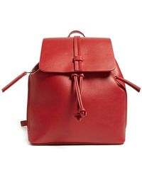 Forever 21 - Faux Leather Flap-top Backpack - Lyst