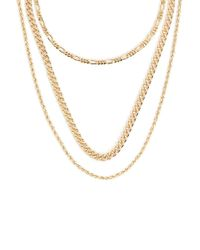 Forever 21 - Assorted Chain Necklace Set - Lyst