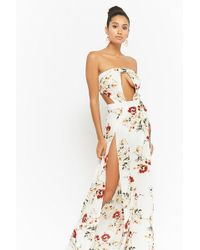 497fa16940 Lyst - Forever 21 Tiered Tulle Maxi Dress in Black