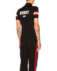 Givenchy   Striped Sleeve Polo   Lyst
