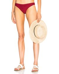 Cali Dreaming - Ruched Pandora Bottom - Lyst